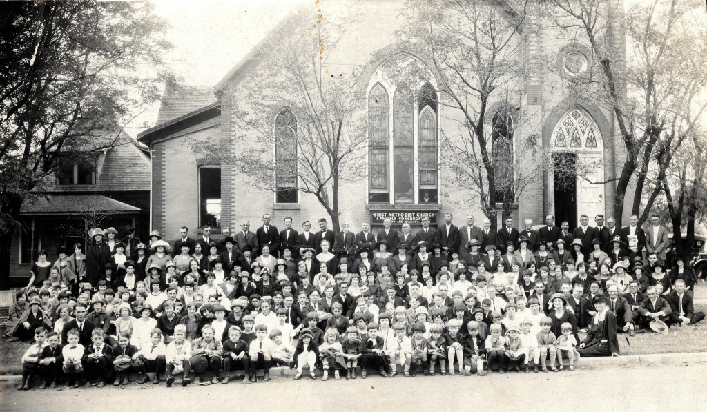 Methodist Church members in 1926