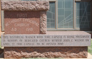 Old Church Cornerstone