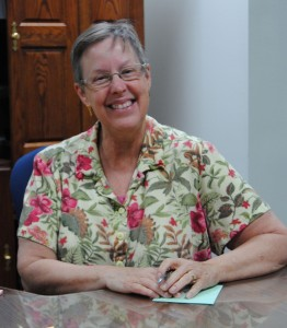 FUMC Receptionist and Secretary Robin Kelly