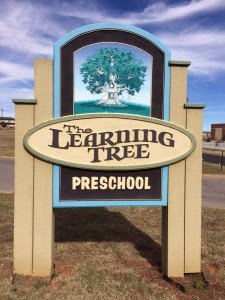 the learning tree sign