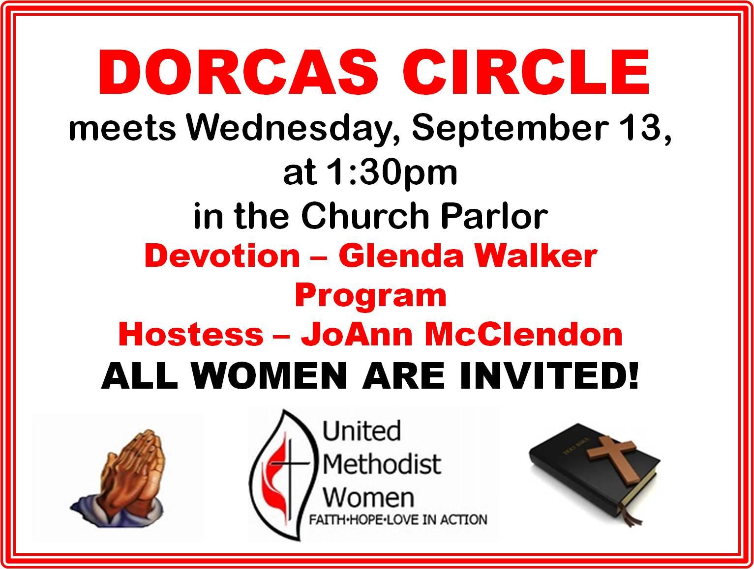 dorcas circle