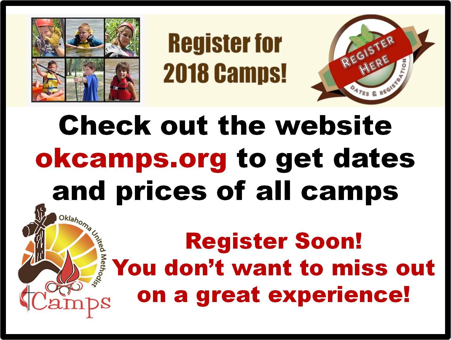 camp second announcement